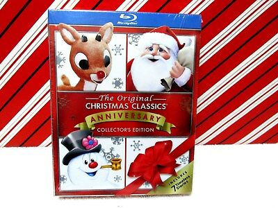the original christmas classics anniversary collector edition blu ray 2015 new