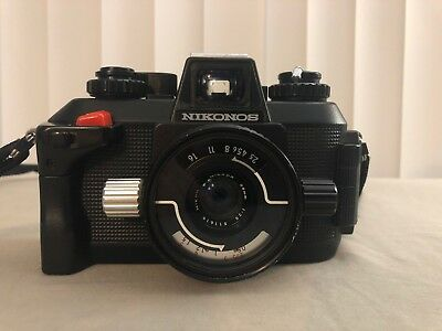 Nikon Nikonos IV-A Underwater Film Camera w/35mm f2.5 Lens