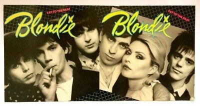 BLONDIE 'Eat to the Beat' Rare 1979 Print Proof-Unfolded Album cover art.