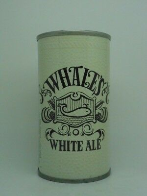 BO-WHALES WHITE ALE Beer Can-NATIONAL BREWING-BALTIMORE MARYLAND