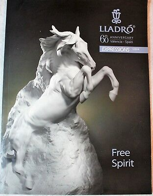 LLADRO 60th Anniversary Expressions Journal Book Photos 2014 Listings