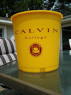 CALVIN COLLEGE KNIGHTS Multi Use BREW TUB Trash Can Bucket Grand Rapids Michigan