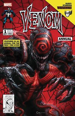 VENOM #1 ANNUAL CLAYTON CRAIN Variant COVER A ***IN STOCK!*** Red Hot!!