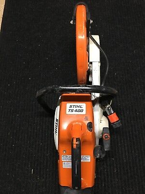 STIHL TS400 Cut-Off Concrete Saw With Diamond Blade And Water Cooling None Nicer