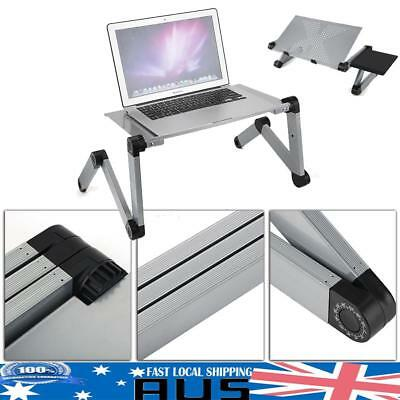 HOT Portable Laptop Lap Stand Desk Table Sofa Bed Tray  W/ Mouse Board Foldable