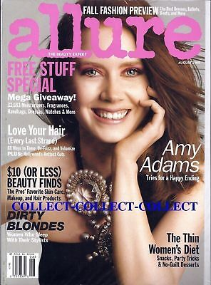 AMY ADAMS ALLURE Magazine July 2013 Issue New Sealed Breasts Makeup
