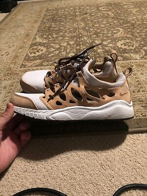 Rare Nike Air Zoom chalapuka mens running shoes used size 10 Cutout Vachetta Tan