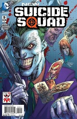 New Suicide Squad #9 The Joker Jim Lee Variant Near Mint Dc New