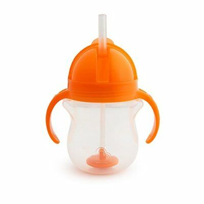 Munchkin Click Lock Tip and Sip Weighted Flexi Straw Trainer Cup 7 oz/207 ml,