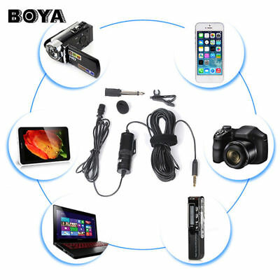 BOYA BY-M1 Omnidirectional Lavalier Microphone for Nikon Sony Camcorde Cellphone