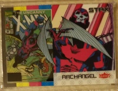 ARCHANGEL 2018 Fleer Ultra X-Men 3 STAX Card Character Set(Top, Middle & Bottom)