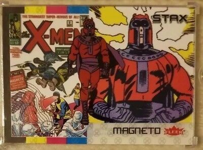 MAGNETO 2018 Fleer Ultra X-Men 3 Card Character Set Lot (Top, Middle & Bottom)