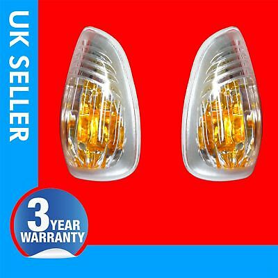 Vauxhall Movano door wing mirror indicator repeater lens Left & Right 4405992