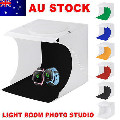 LED Light Room Photo Studio Photography Lighting Tent USB Backdrop Cube Box