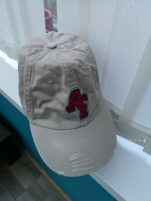 ccd336f2897 Abercrombie   Fitch New York Hat cap Moose Distressed