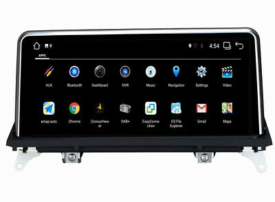 10.25 Inch HD Android 7.1 Car GPS Radio Player For BMW X5 X6 E70 E71 2011-2013