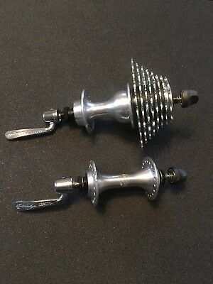 NOS Campagnolo Mirage Hubs 36 Holes & Campagnolo 8 Speed Cassettes 13-26