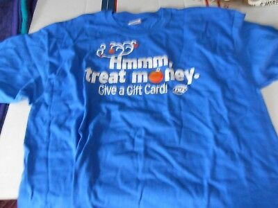 Dairy Queen Gift Card T Shirt Promotional Size Large