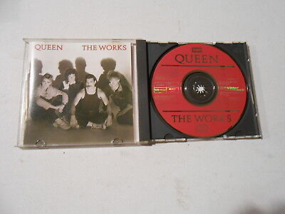 Queen-The Works-9 Track Cd-1984-Japan-Freddie Mercury-Brian May-Roger Taylor