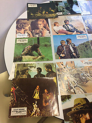 Easy Rider 1969 Original Aushangfotos Lobby Cards RAR SELTEN!!!