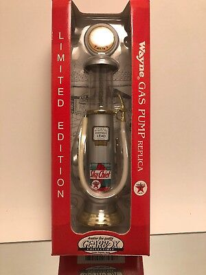 Gearbox Replica Wayne Gas Pump Texaco Ltd Ed Collectible Heavy Die-Cast Metal