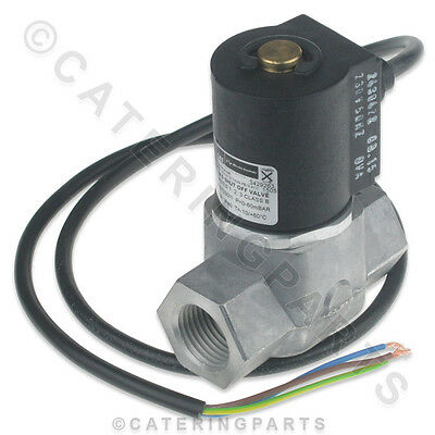 """Gas Valve For Hopkins Fish And Chip Range Spare Parts 1/2"""" Bsp Female In And Out"""