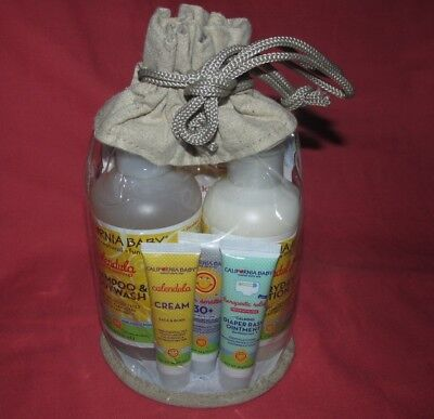 California Baby Calendula Shampoo & Bodywash  Lotion Cream Diaper Rash Sunscreen