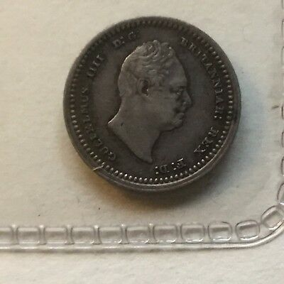 1833 William IV Silver Maundy Twopence