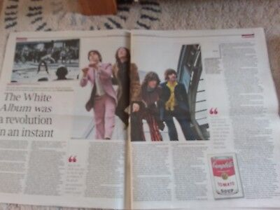 The Times  Newspaper Article- 2 pages on the Beatles and White Album . Nov 17th