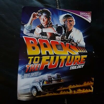 Back To The Future Trilogy ... In Hd Uk  Ultraviolet Uv Code Only
