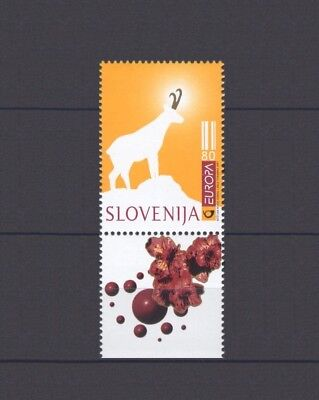 SLOVENIA, EUROPA CEPT 1997, TALES & LEGENDS with LABEL, MNH