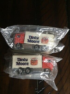 2 - Hot Wheels Mattel Dinty Moore Truck (1991) Sealed New In Original Packages