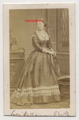 Disdéri CDV c1860's Lady Kathleen Parker Dr Richard Quain Collection