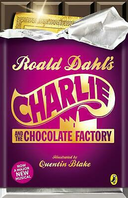 Charlie and the Chocolate Factory by Roald Dahl Paperback Book Free Shipping!
