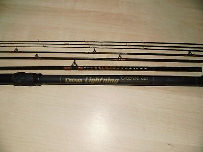 DAIWA LIGHTNING COMBO Leger Feeder Quiver 8ft / 2,44m Made in Great Britain