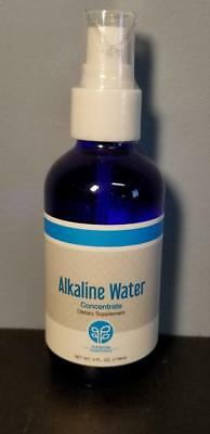 Genesis Pure Alkaline Water Concentrate Dietary Suppliment - 4oz Bottle - New!