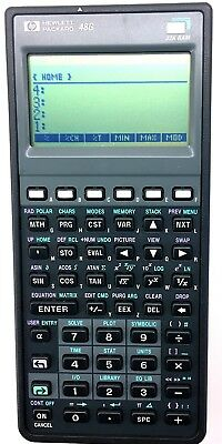 New HP 48G Graphing Calculator with case, new batteries & all documentation