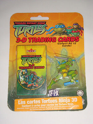 Cartes Tortues Ninja 3D Neuf Sous Blister 2003