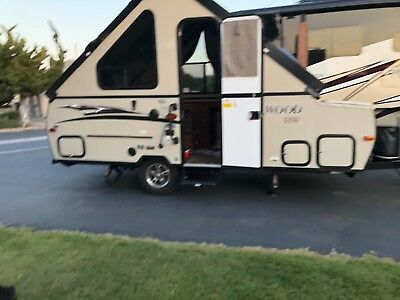 2015 Forest River Rockwood 192 HW Hard Wall Pop Up Camper