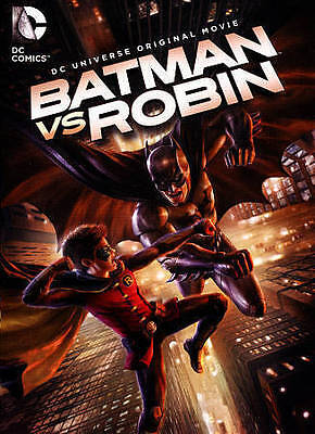 BATMAN VS ROBIN (DVD, 2015) NEW Factory Sealed, Free Shipping