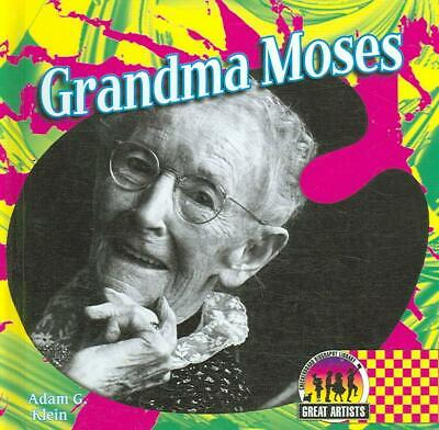 Grandma Moses by Adam G. Klein (English) Library Binding Book Free Shipping!