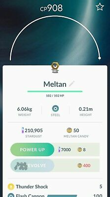 Meltan Pokemon Go Box