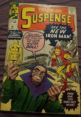Tales of Suspense #48 (1963) First appearance of Iron Man's red and gold suit