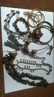 Lovely Job Lot Of SOME VINTAGE & OTHER INDIAN/BELLYDANCING/ETHNIC jewellery
