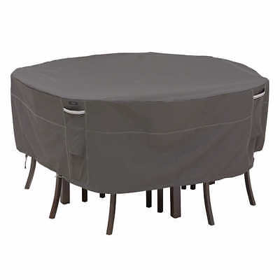 Classic Accessories Ravenna Round Patio Dining Set Covers (Medium)