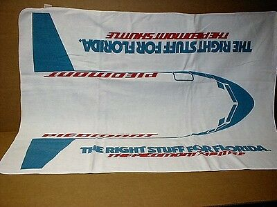 Piedmont Airlines Florida Shuttle official licensed NEW airplane rare LG blanket