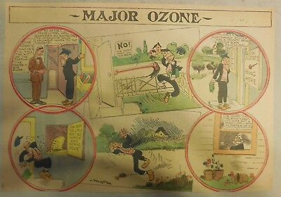 Major Ozone Sunday Page from 1905 Half Page Size!