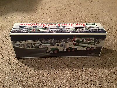 2002 Hess Truck & Airplane - New In Box - See Pictures
