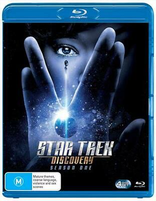 Star Trek - Discovery : Season 1 - Blu Ray Region B Free Shipping!