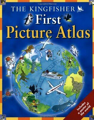 The Kingfisher First Picture Atlas by Chancellor, Deborah Paperback Book The